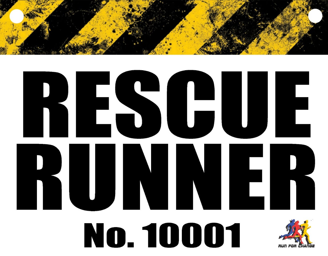 The Rescue Run : A No-Frills Public Announcement