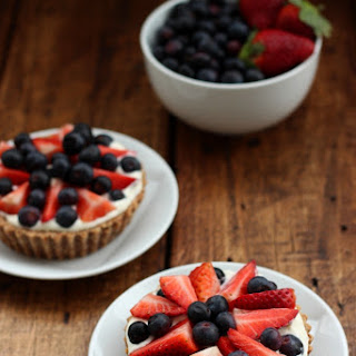 Grain-free Berry & Cream Tarts