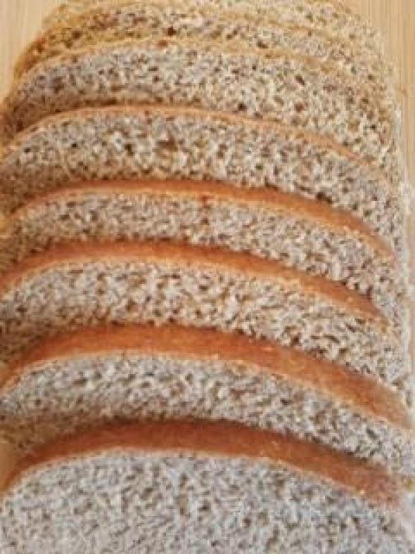 Honey Molasses Light Rye Bread For A Kitchenaid Recipe