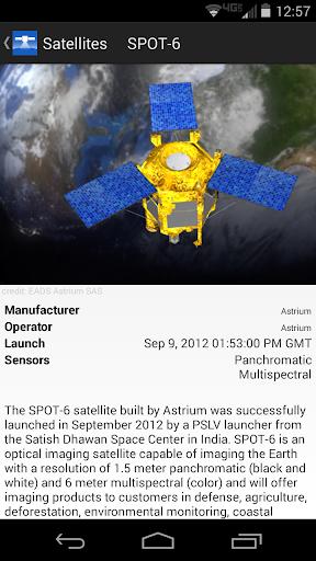 Capturas de pantalla de SpyMeSat 2