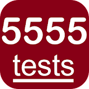 5555 English Grammar Tests