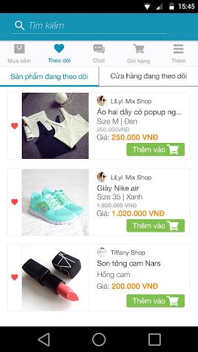 OkieLa: Mua sắm trên di động screenshot