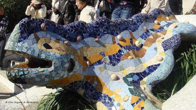 Salamandra, Parc Guell, Gaudí, Barcelona, Elisa N, Blog de Viajes, Lifestyle, Travel