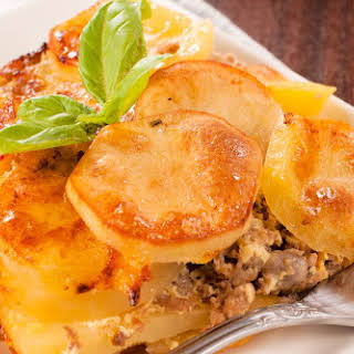 Ground Beef and Potato Casserole.