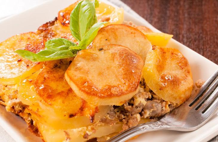 Ground Beef and Potato Casserole Recipe