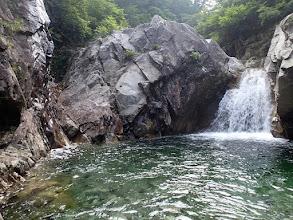 Photo: 魚止滝4mここは左巻き
