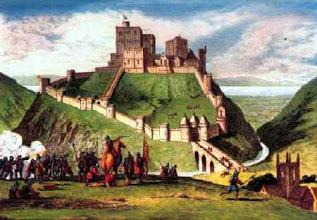 Photo: Corfe Castle siege, Dorset 1645