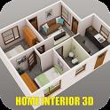 Home Interior 3D Ideas icon
