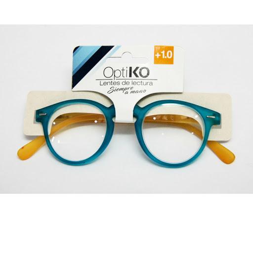 lentes de lectura optiko azul +1.00