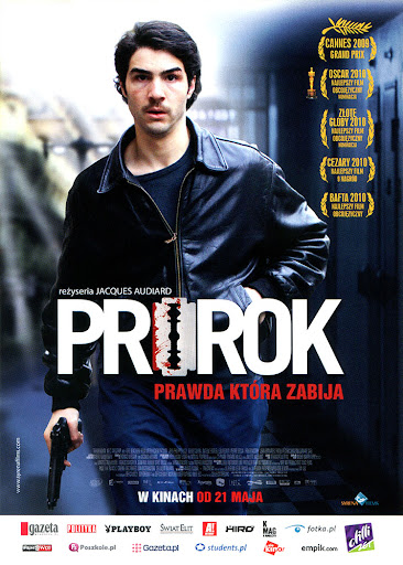 Przód ulotki filmu 'Prorok'