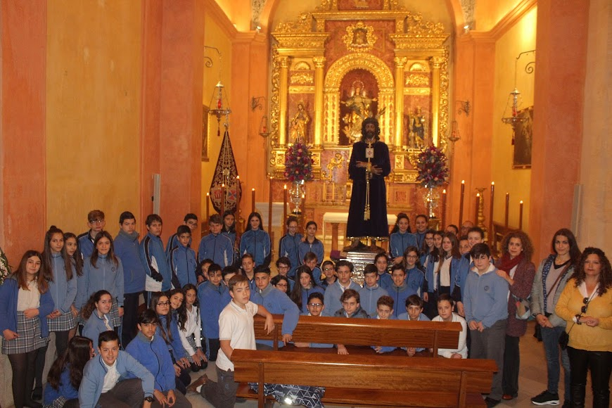 Alumnos de 1º de la ESO del Colegio del Milagro.