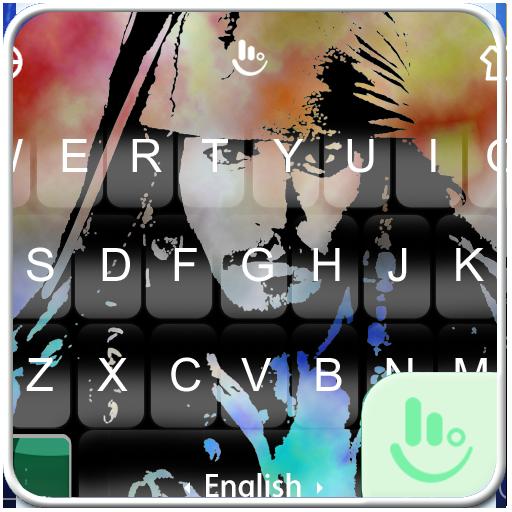 Captain Jack Keyboard Theme