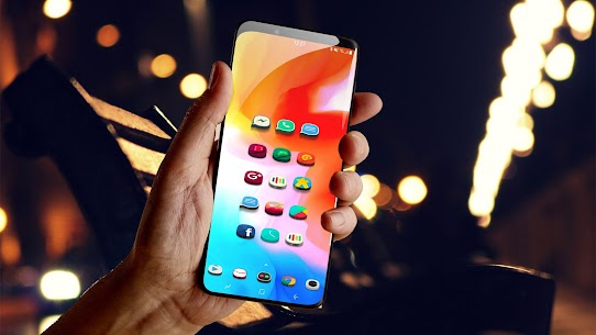 Popsicle 3D android 10 icon pack HD Wallpaper pack 20no ads optimze android 10 APK + MOD (Unlocked) 3