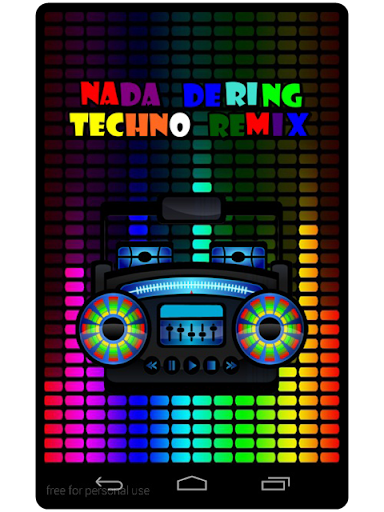 Nada Dering Techno Remix