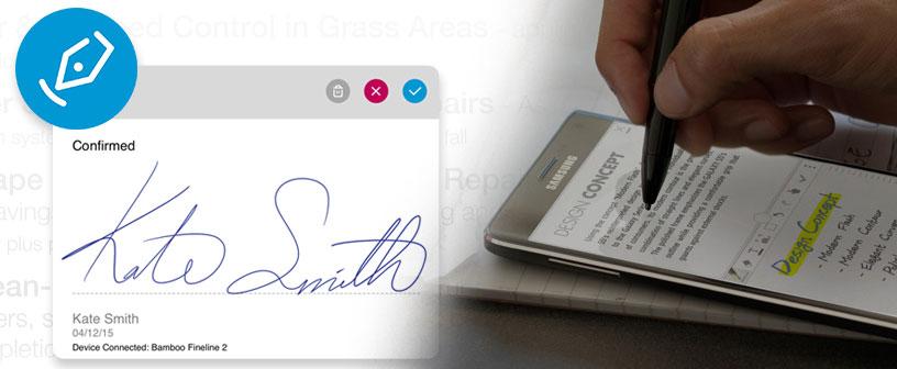 Кроссплатформенное приложение Wacom sign pro PDF стало доступно для среднего и крупного бизнеса