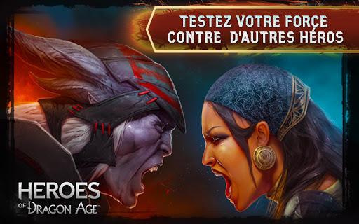 Code Triche Heroes of DragonAge APK MOD (Astuce) screenshots 1