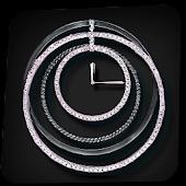 Elegant Diamond Clock