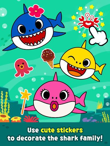 Pinkfong Baby Shark Coloring Book screenshot 13
