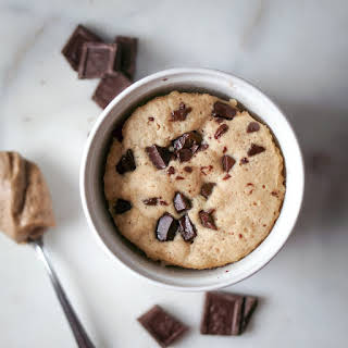 Single Serving Chocolate Chip Cookie.