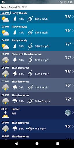 Weather XL PRO 1.4.3.8 screenshots 4