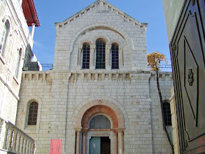 Photo: The Armenian Church of our Lady of the Spasm at the fourth Station on the Via Dolorosa