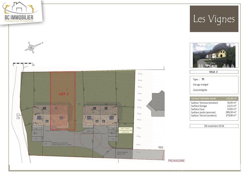 Vente maison 5 pièces 122.66 m² à Farges (01550), 455 000 €