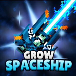 Grow Spaceship VIP Galaxy Battle 5.2.6 by PixelStar Games logo