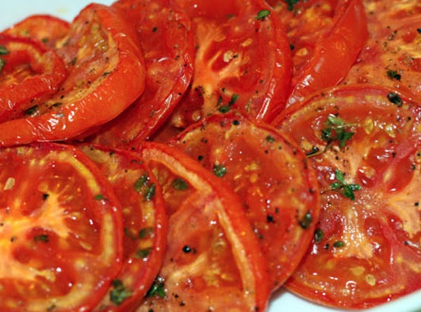 How to oven roast tomatoes:  4 small vine-ripened tomatoes, round or romas olive oil for drizzling salt...