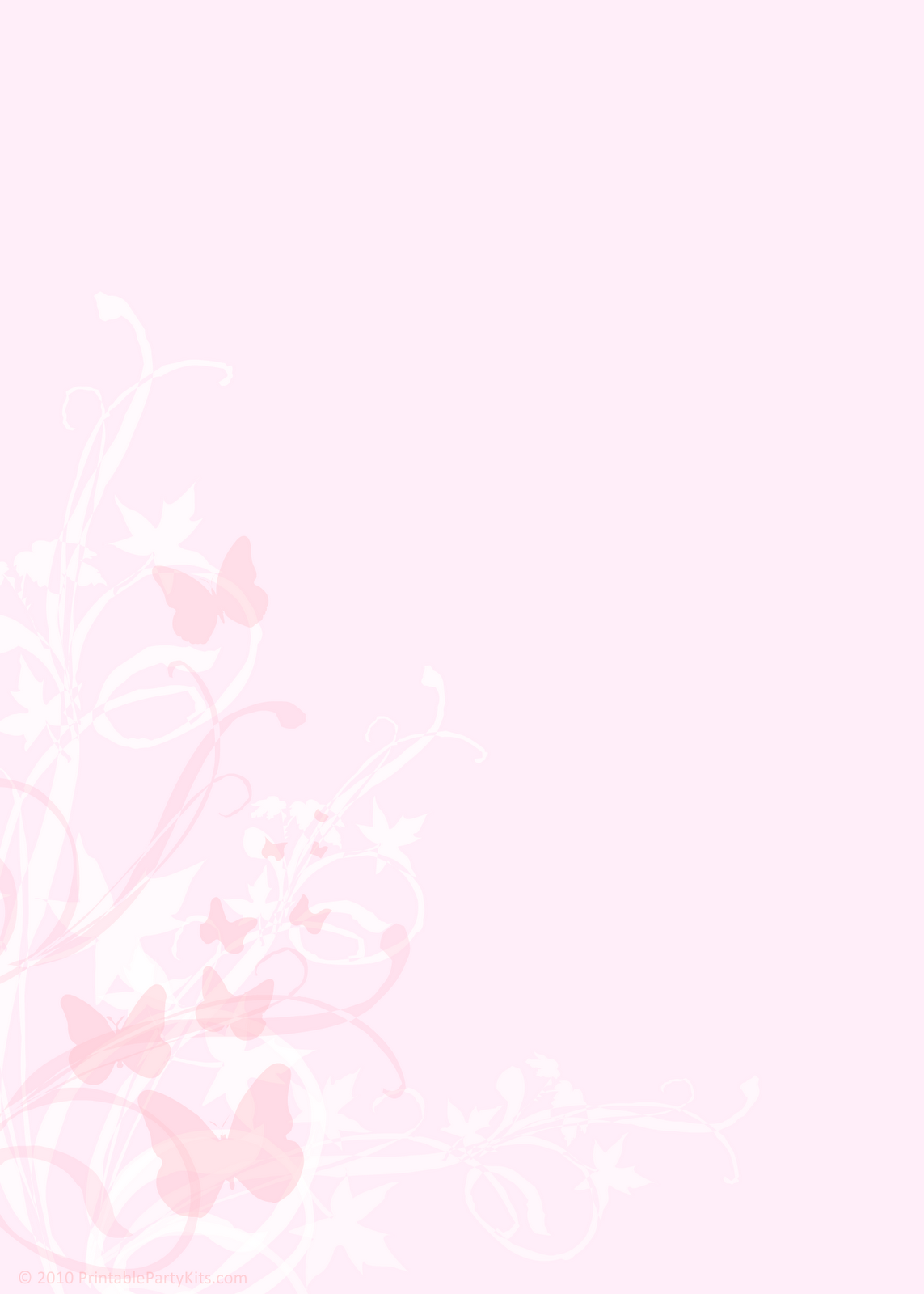 Click on the free blank pink
