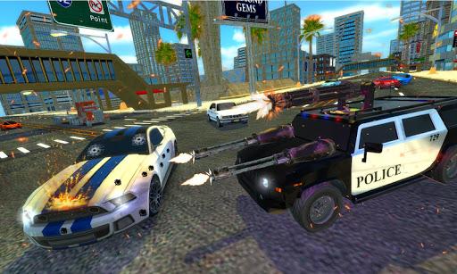 Real Police Gangster Car Chase: Driving Simulator 1.0.7 screenshots 2