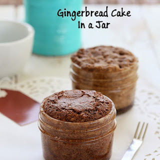 Gingerbread Cake Mix In a Jar for 1. Glutenfree Vegan