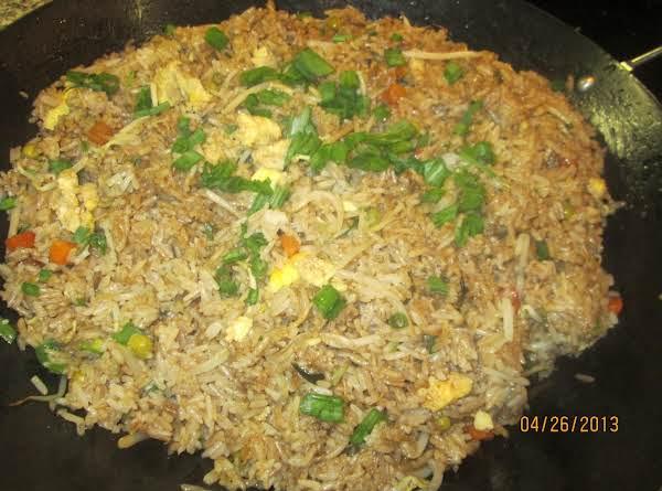 Veggie Thai Fried Rice Recipe