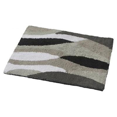 Коврик для ванной Ridder Dune серый 60x50 см