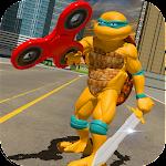 Flying Ninja Fidget Hero Mafia