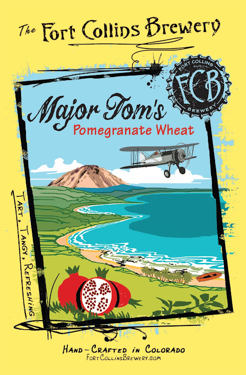 Logo of FCB Major Tom's Pomegranate Wheat