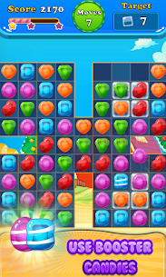 Booster Candy : Candy Jelly Crush Blast Mania 5
