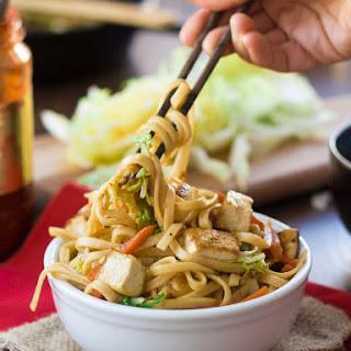 Vegan Shanghai Noodles