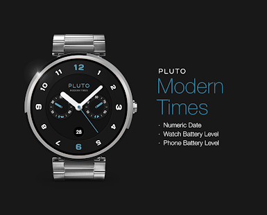 Modern Times watchface by Pluto Screenshot