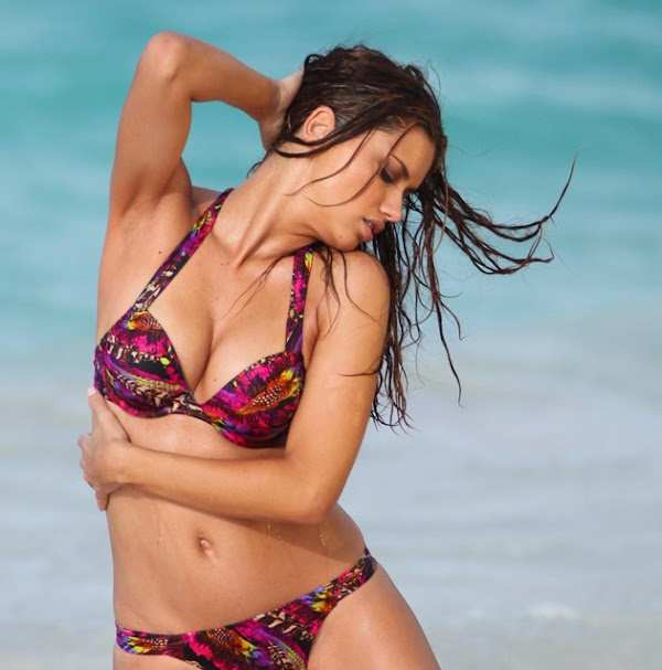 Adriana Lima Victoria's Secret bikini photo shoot: The sequel:celebrities,bikini girl0
