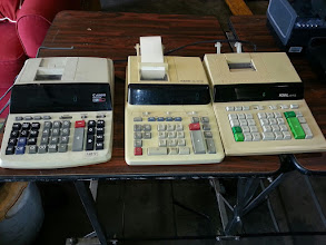 Photo: Adding Machines $15 ea.