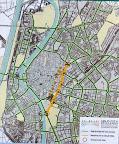 План карта велокарнавала в Севилье