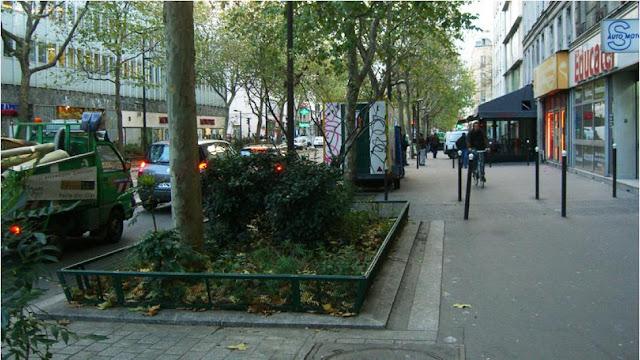 озеленение тротуара