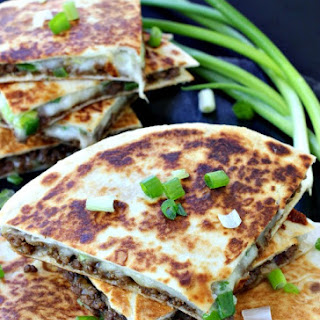 Korean Beef Quesadillas.