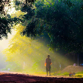 Cambodia Daily life.  by Rechard Sniper - Landscapes Travel