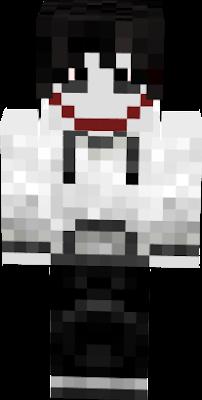 Jeff Nova Skin - Skins para minecraft pe de jeff the killer