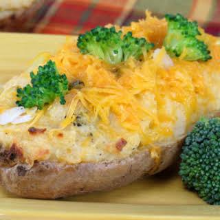 Beef-Stuffed Potatoes.