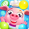 Candy bubble pop shooter: Match 3 magic puzzle