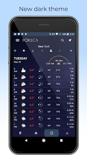 Foreca Weather screenshot 3