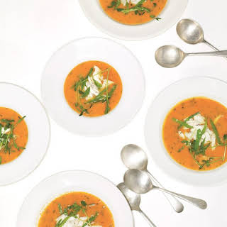Tomato and Crab Soup.