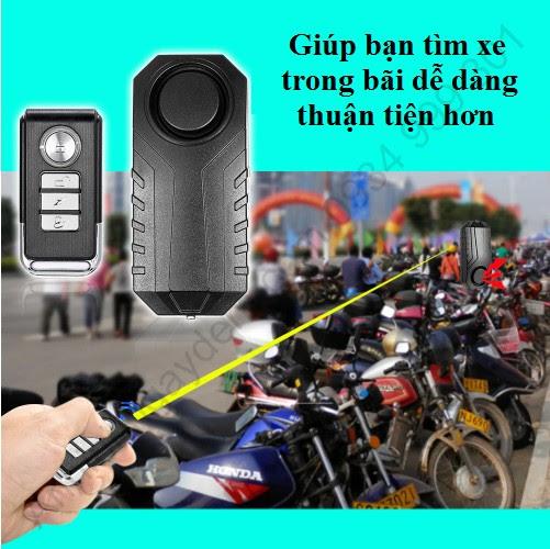 Khóa chống trộm xe máy thông minh